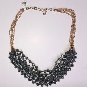 Francesca's Chunky Grey Necklace